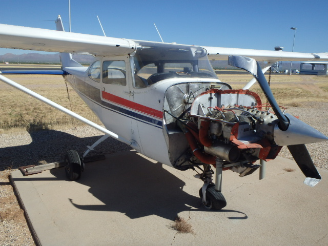 Texas Air Salvage parting out: 1966 Cessna 172G || Used