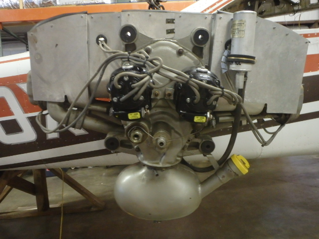 Continental A65-8   Engine w/Accessories TSMO= 113 35